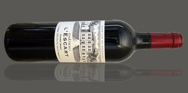vin bordeaux chateau escart